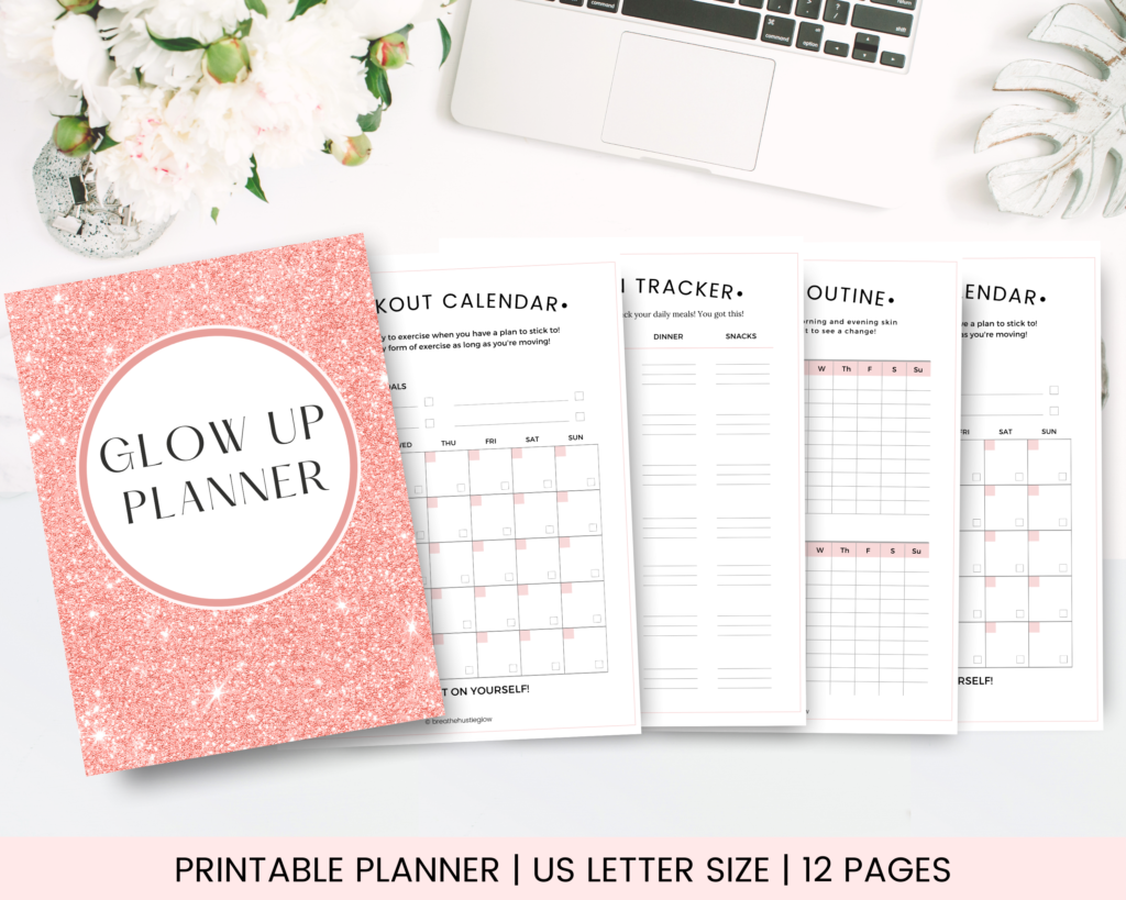 glow up planner